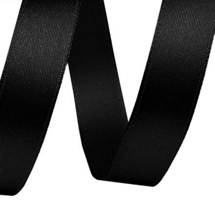 Galanterie: Atlasová stuha šíře 12 mmn - černá