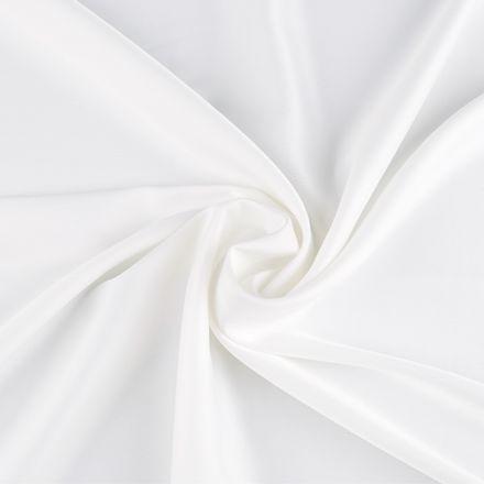 Metráž: Krep satén šíře 150 cm - smetanová