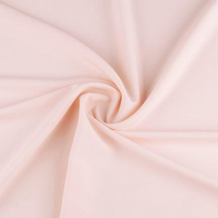 Metráž: Krep satén šíře 150 cm - pudrová