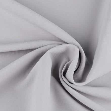 Metráž: Krep satén šíře 150 cm - šedá