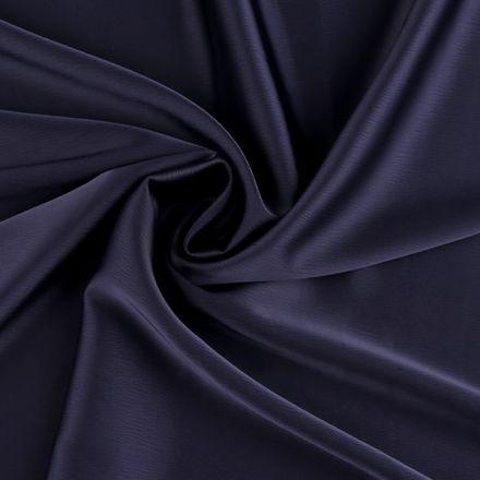Metráž: Krep satén šíře 150 cm - modrá