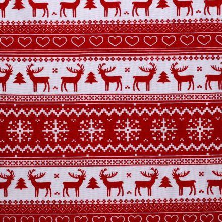 Metráž: Bavlněná vánoční látka