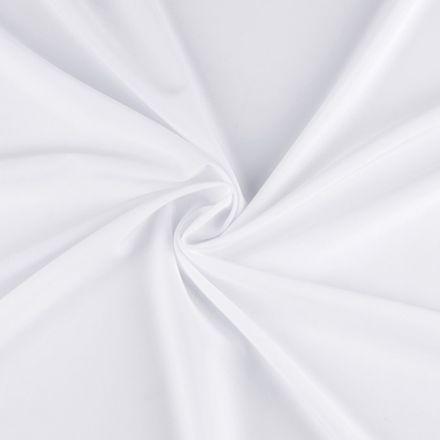 Metráž: Polyesterová šatovka - bílá