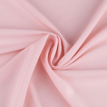 Metráž: Polyesterová šatovka - pudrová