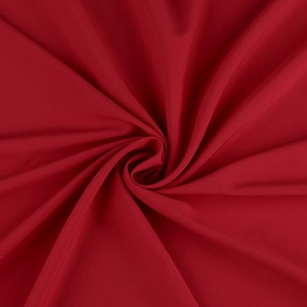 Metráž: Polyesterová šatovka - červená