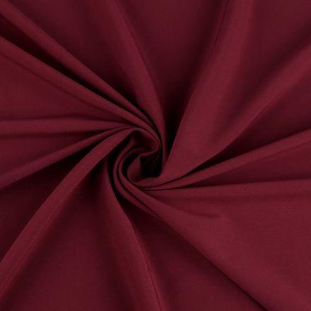 Metráž: Polyesterová šatovka - vínová