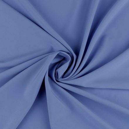 Metráž: Polyesterová šatovka - modrá