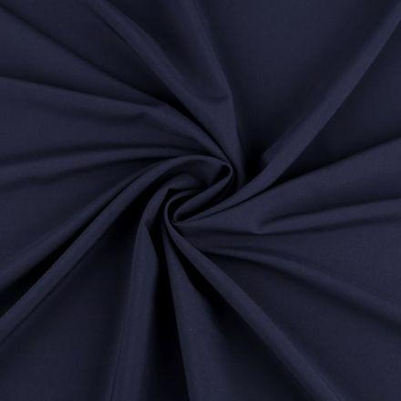Metráž: Polyesterová šatovka - tm. modrá