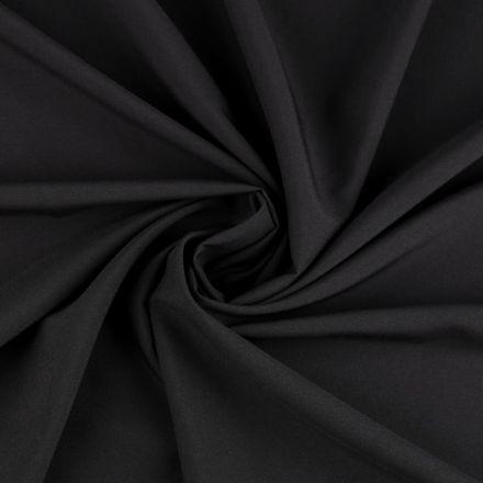 Metráž: Polyesterová šatovka - černá
