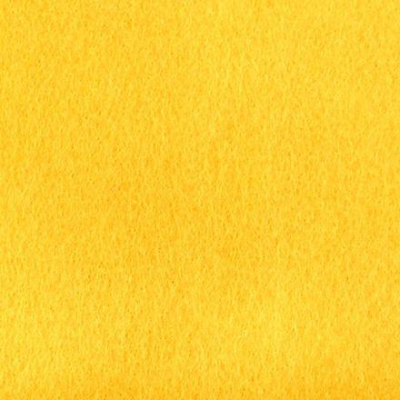 Galanterie: Filc / plsť šíře 110 cm - žlutá
