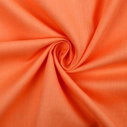 Metráž: Bavlněná látka - oranžová