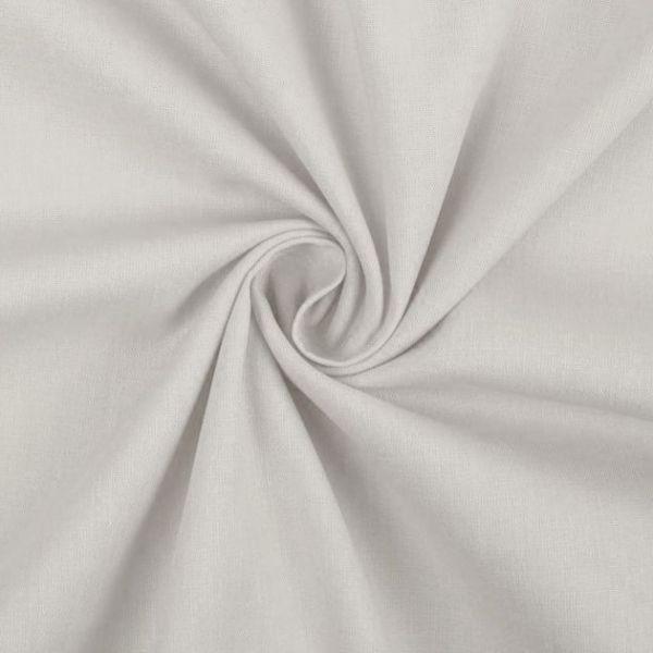Bavlněná látka  - sv.šedá