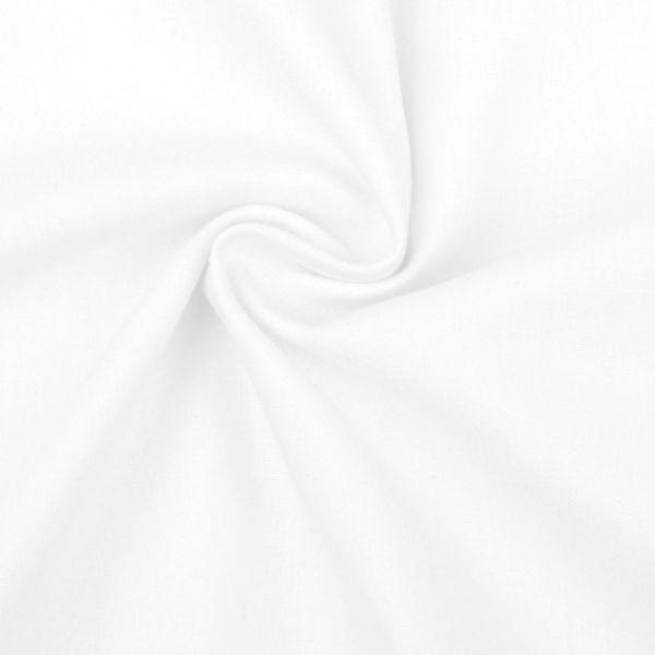 Bavlněná látka - bílá