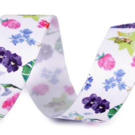 Galanterie: Stuha květy šíře 25 mm