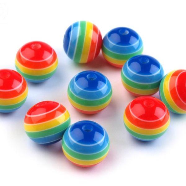 Plastové korálky 10 mm (10ks)