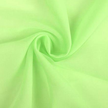 Metráž: Šifón světle zelená