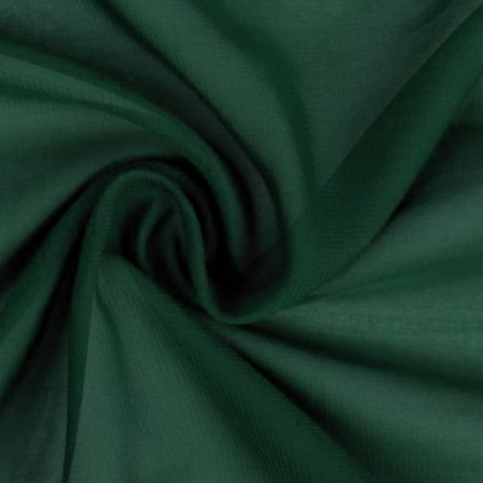 Metráž: Šifón tmavě zelená