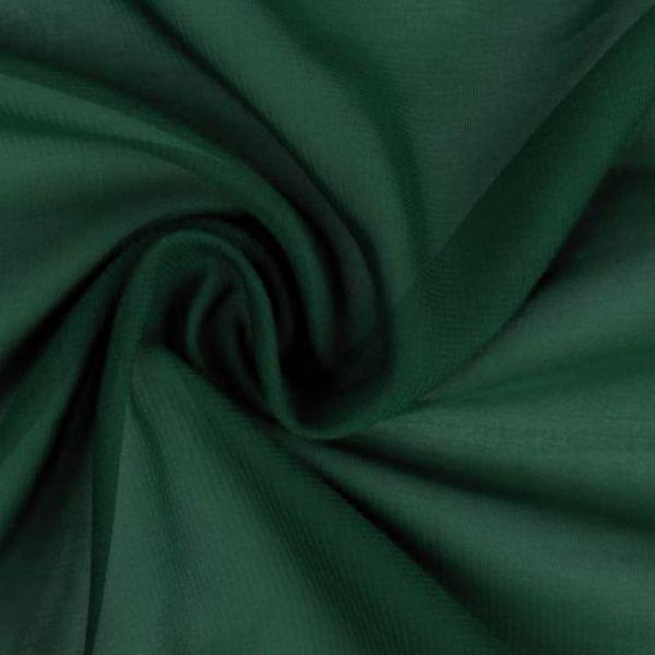 Šifón tmavě zelená