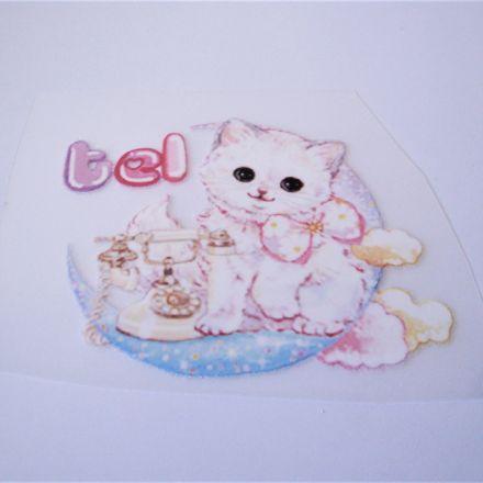 Galanterie: Nažehlovačka kočička 65 x 55 mm