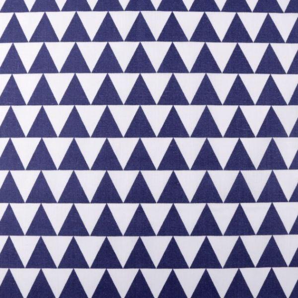 Bavlněná látka - modrá