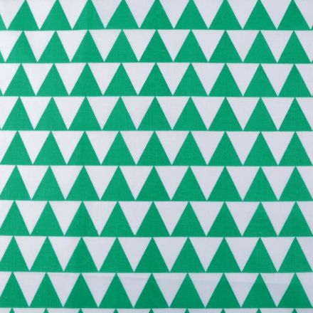 Metráž: Bavlněná látka - zelená
