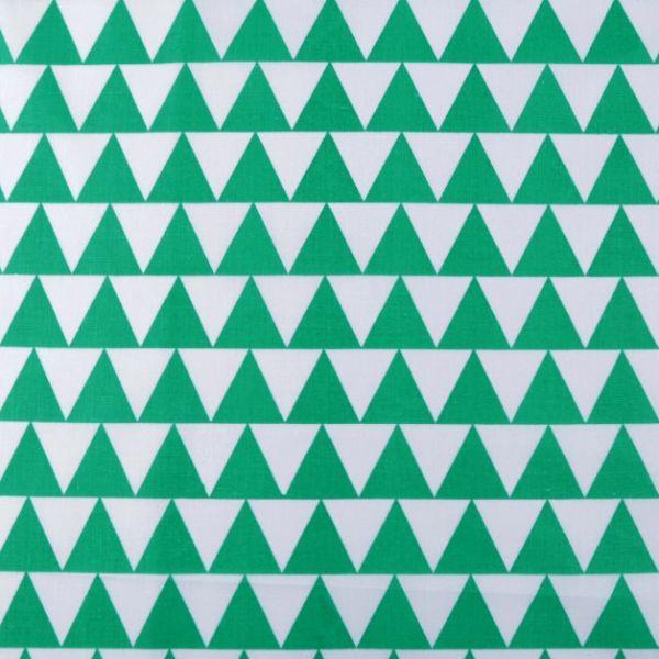 Bavlněná látka - zelená