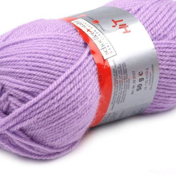 Pletací příze Hit (50 g) - světle fialová