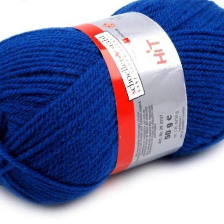 Galanterie: Pletací příze Hit (50 g) - modrá