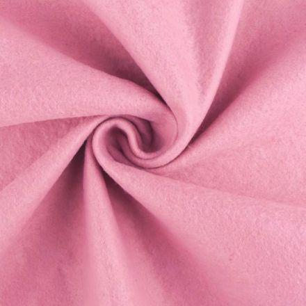 Galanterie: Filc / plsť šíře 90 cm - růžová