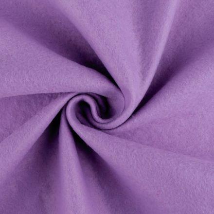 Galanterie: Filc / plsť šíře 90 cm - sv. fialová