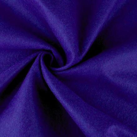 Galanterie: Filc / plsť šíře 90 cm - modrá