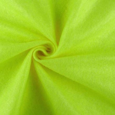 Galanterie: Filc / plsť šíře 90 cm - zelená neon