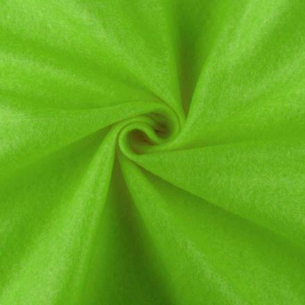 Galanterie: Filc / plsť šíře 90 cm - zelená světlá