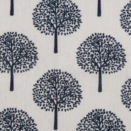Metráž: Bavlna / imitace lnu - stromky