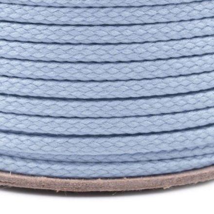 Galanterie: Oděvní šňůra PES 2 mm - světle modrá