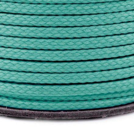 Galanterie: Oděvní šňůra PES 2 mm - tyrkysová