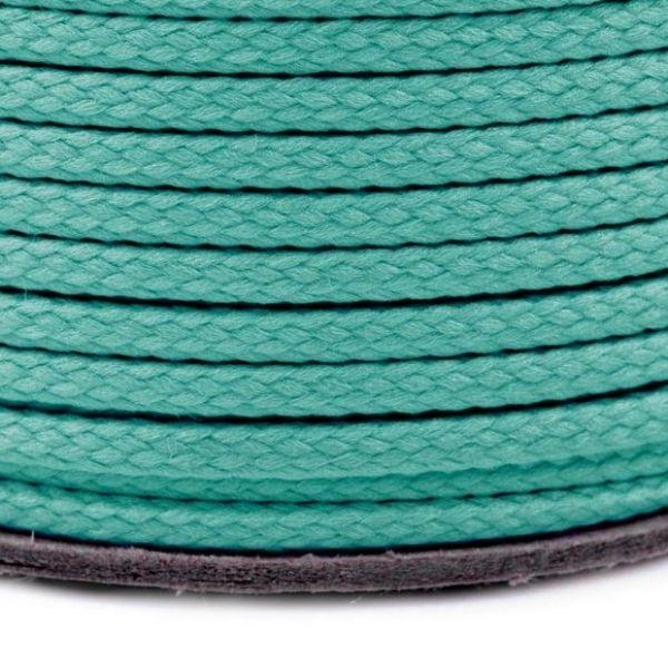 Oděvní šňůra PES 2 mm - tyrkysová