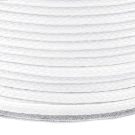 Galanterie: Oděvní šňůra PES 2 mm - světle bílá