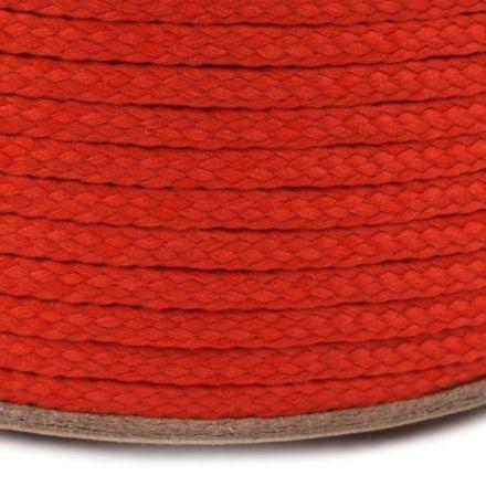 Galanterie: Oděvní šňůra PES 2 mm - červená