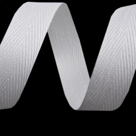 Galanterie: Keprovka - tkaloun šíře 16 mm (1m) - bílá