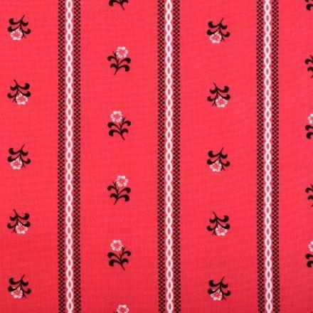 Metráž: Bavlna - červená