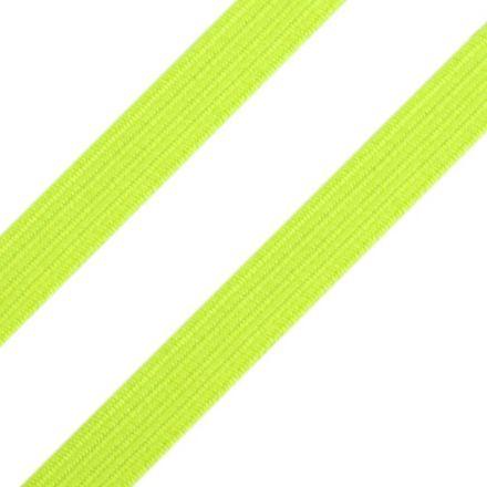 Galanterie: Pruženka plochá šíře 7 mm (1m) - neon žlutá