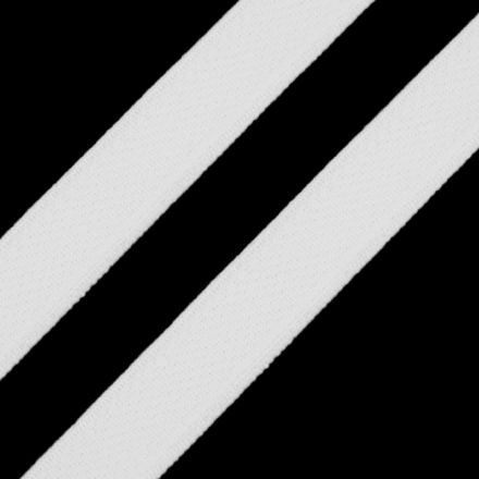Galanterie: Pruženka plochá 5 mm - bílá