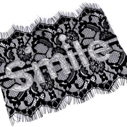 Galanterie: Krajková aplikace Smile
