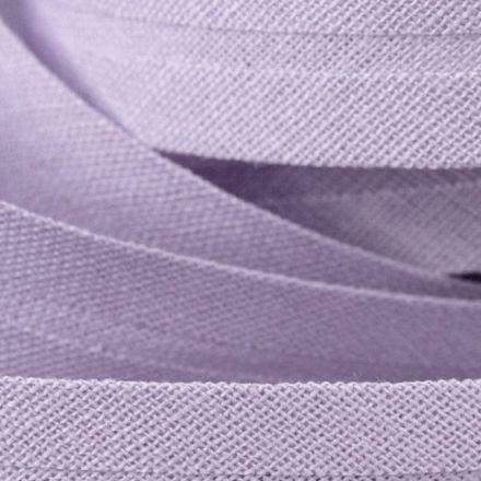 Galanterie: Šikmý proužek bavlněný šíře 20 mm - sv. fialová