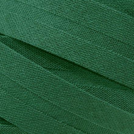 Galanterie: Šikmý proužek bavlněný šíře 20 mm - zelená