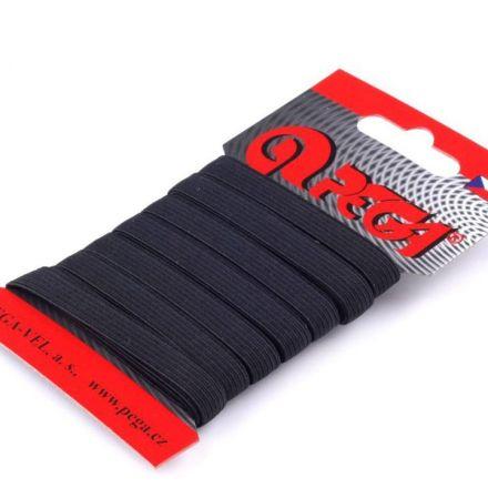 Galanterie: Pruženka šíře 8 mm (5m) - černá