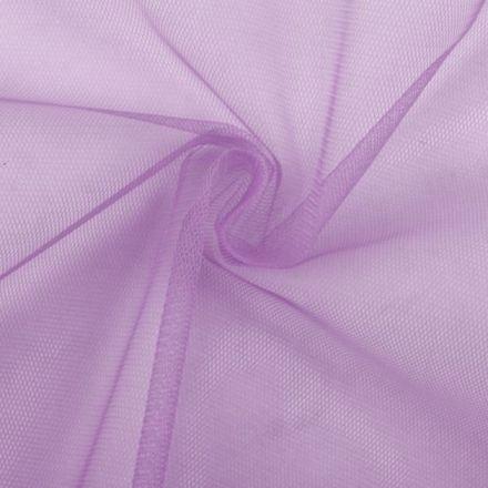 Metráž: Tyl jemný na závoje - sv.fialová