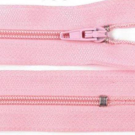 Galanterie: Zip nedělitelný 20 cm - světle růžová