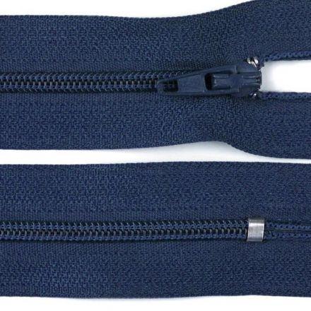 Galanterie: Zip nedělitelný 20 cm - tmavě modrá